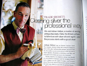 Home and Antiques Magazine article