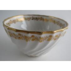 SOLD Coalport Spiral Shanked Tea Bowl, Gilded Leaf Garland Decoration, c1800 SOLD
